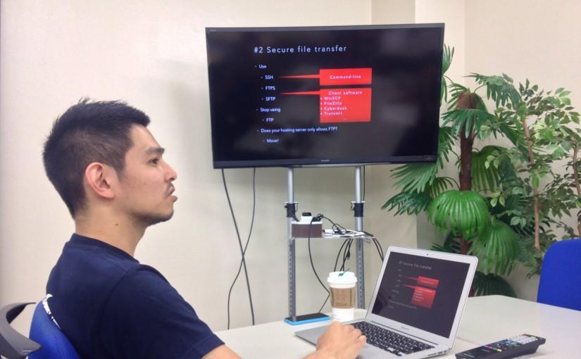 WP security measures you can do today! – WordPress Meetup Tokyo