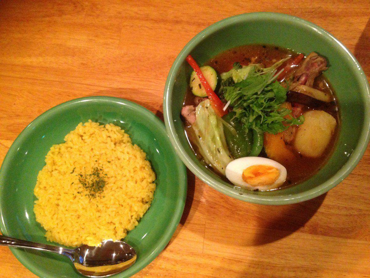 代々木八幡・富ヶ谷のスープカレー「DOREMI」に行ってみた